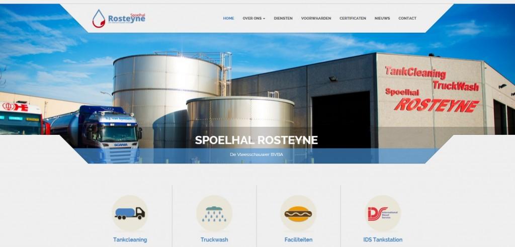 Nieuwe website van Spoelhal Rosteyne online